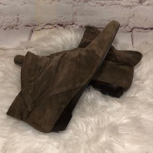 NINEWEST LEATHER ANKLE BOOTS
